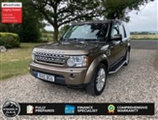 used 2010 land rover discovery 4 hse 3.0 tdv6 turbo diesel automatic 4x4 7 seater in hockley