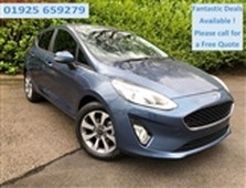 used 2021 ford fiesta in north west